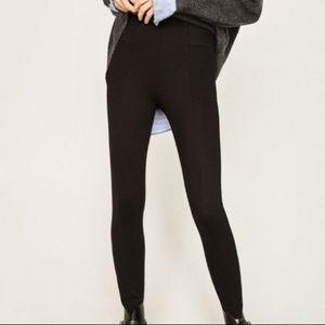 Zara high waist leggings/ponte pants